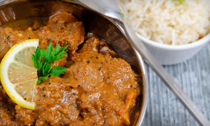 Royal Curry Cafe - Studio City: Indian Food and Drinks for Dinner at Royal Curry Café (Half Off). Two Options Available.