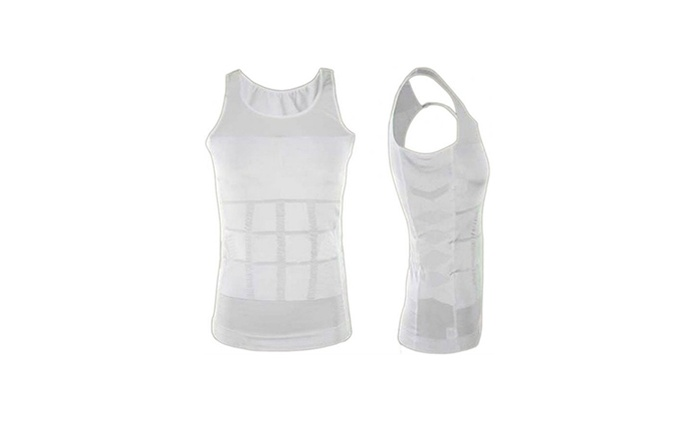 Men's Slimming Effect Vest in Choice of Size for AED 29 (26% Off)