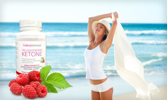 Raspberry Ketone Weight-Loss Supplement: 30-, 60- or 90-Day Supply of Tru Raspberry Ketone Weight-Loss Supplements (Up to 72% Off)