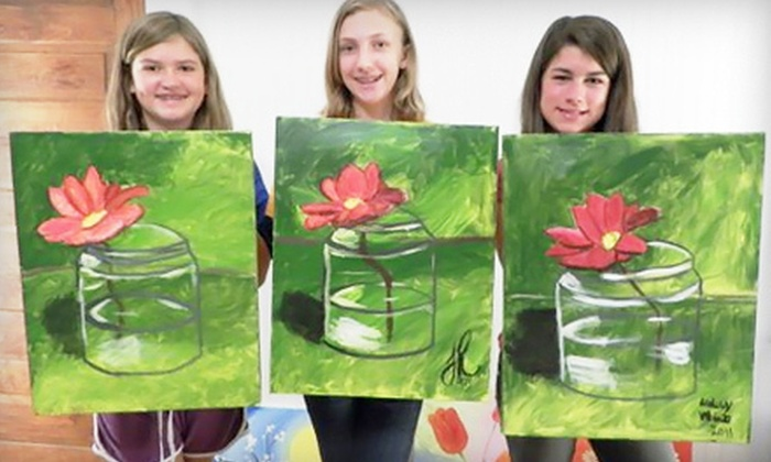 The Art Escape - Senoia: Teen Painting Class for One or Two at The Art Escape in Senoia (Up to 57% Off)