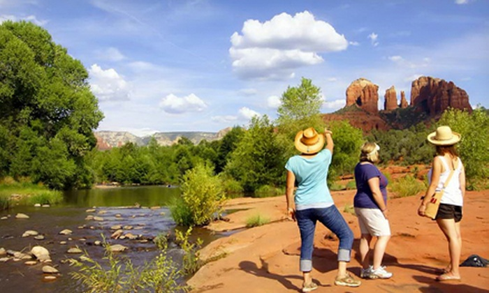 Earth Wisdom Jeep Tours - Sedona: Scenic Sedona Jeep Vortex Tour for One, Two, or Four from Earth Wisdom Jeep Tours (Up to Half Off)