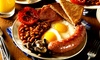 Mango Wine Bar & Restaurant - Liverpool: Full English Breakfast with Tea or Coffee for One or Two at Mango Wine Bar & Restaurant (Up to 46% Off)