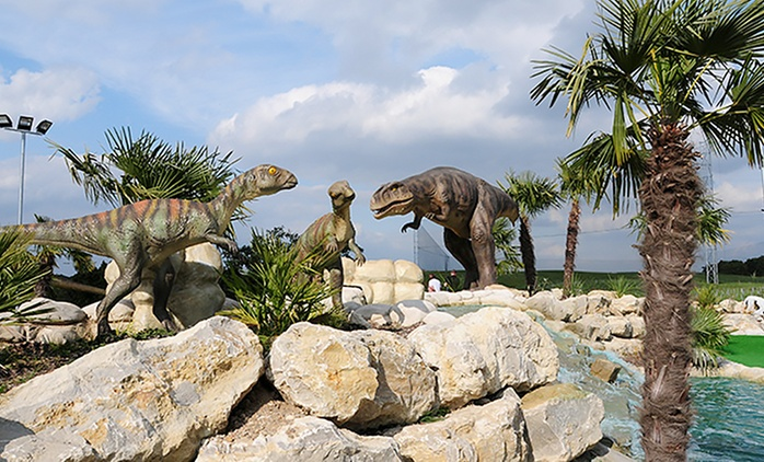 Adventure Golf for One or Two Adults or a Family of Four at Choice of Location (Up to 53% Off)
