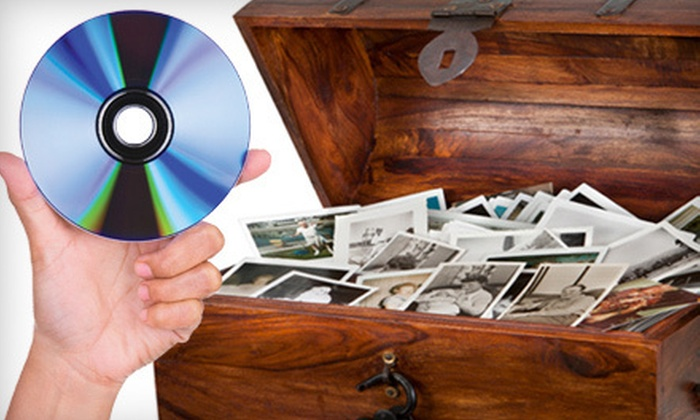 Royal Gor - Multiple Locations: $75 for a Photo-to-DVD Conversion for Up to 500 Photos from Royal Gor ($300 Value)