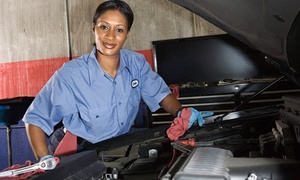 Woody's Service Center: Full-Synthetic Oil Change, Winterization Package, or Brake Service at Woody's Service Center (Up to 53% Off)