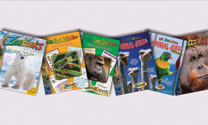 Zoobooks: Zoobooks Animal Jokes & Activities 6-Book Bundle