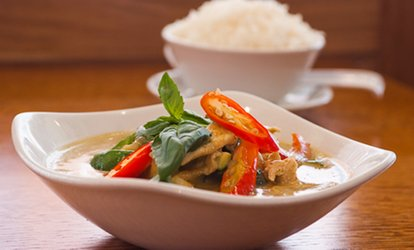 <strong>Thai</strong> Food at Kaffir <strong>Thai</strong> Cuisine (Up to 48% Off)