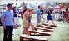 Up to 55% Off a Tailgating Games Event