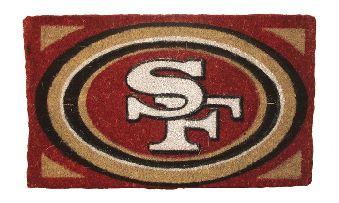 San Francisco 49ers Coir Welcome Mat: San Francisco 49ers Coir Welcome Mat