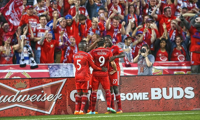 FC Dallas - Toyota Stadium: FC Dallas MLS Soccer Game Including On-Field Experience on Saturday, May 31, or Saturday, June 7 (Up to 62% Off)