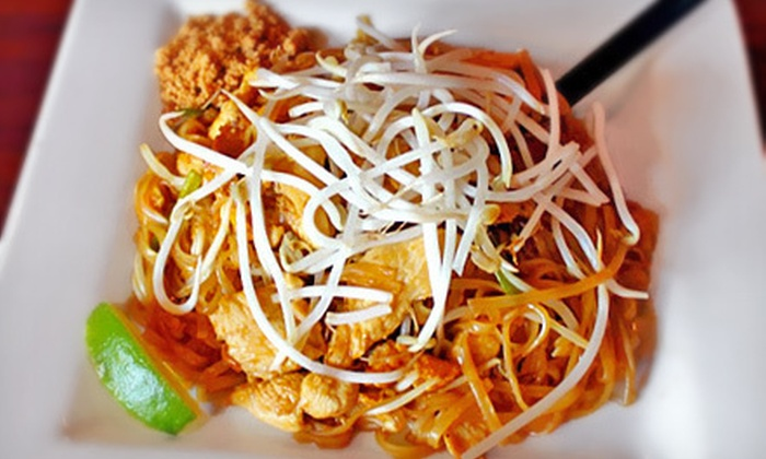 SaWaDiKa Thai Zone Restaurant - Richardson: $7 for $15 Worth of Thai Cuisine at Sawadika Thai Zone Restaurant