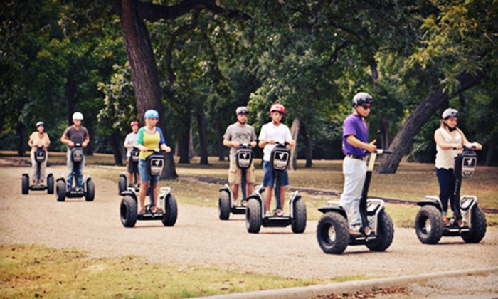 Segway Fort Worth - Fort Worth: West 7th and Trinity Trails Segway Tour for One, Two, or Four from Segway Fort Worth (Up to 56% Off)