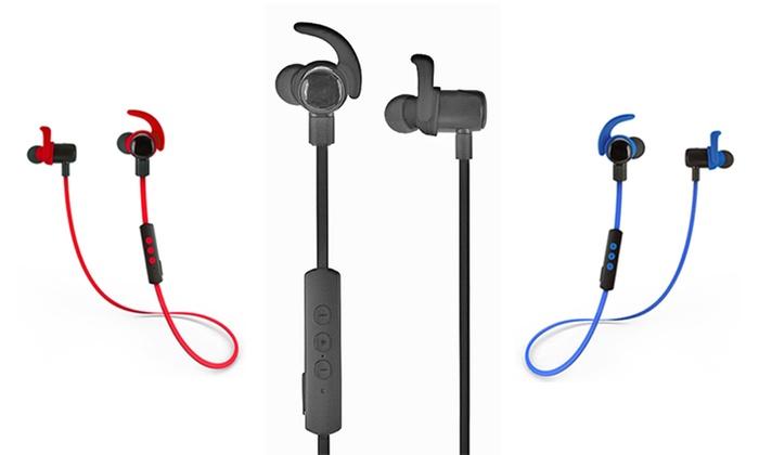 85 off on jarv in ear bluetooth headphones livingsocial shop. Black Bedroom Furniture Sets. Home Design Ideas