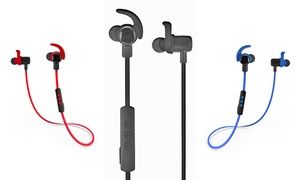 Jarv NMotion EXCEL Water/Sweat-Resistant In-Ear Bluetooth Headphones at Jarv NMotion EXCEL Water/Sweat-Resistant In-Ear Bluetooth Headphones, plus 6.0% Cash Back from Ebates.