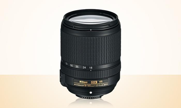 Nikon AF-S DX Nikkor 18–140mm f/3.5-5.6G ED VR Lens: Nikon AF-S DX Nikkor 18–140mm f/3.5-5.6G ED VR Lens (Refurbished)