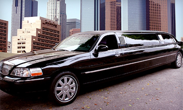 Marriton Limousine - Downtown: Four-, Six-, or Eight-Hour Stretch-Limo Rental for Eight from Marriton Limousine (45% Off)