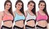 Women's Sports Bras with Removable Pads (4-Pack): Women's Sports Bras with Removable Pads (4-Pack)