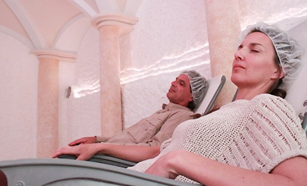 $49 for Three 45-Minute Salt-Cave Sessions at Traditional Health Clinic and Salt Spa ($135 Value)