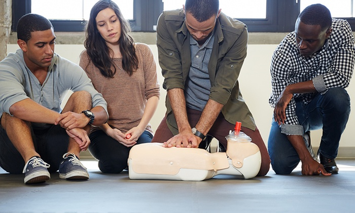 Cpr 4 All - Multiple Locations: $45 for $75 Worth of CPR and First-Aid Certification Classes — Cpr 4 All