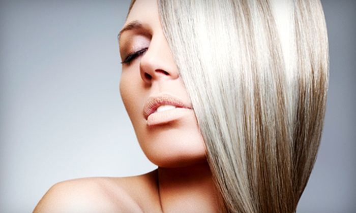 Mint Hair Studio - Santa Rosa: Haircut Package with Partial or Full Highlights, or Keratin Treatment at Mint Hair Studio (Up to 60% Off)