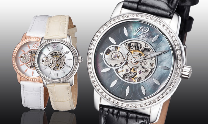 Stuhrling Women's Legacy Watches | Groupon Goods