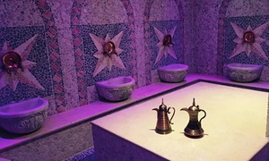Hammam Spa: Moroccan Bath Spa Package for One or Two, or for Three with Jacuzzi Access at Hammam Spa (Up to 65% Off)