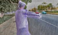 שלישיית מעילי גשם ורוח