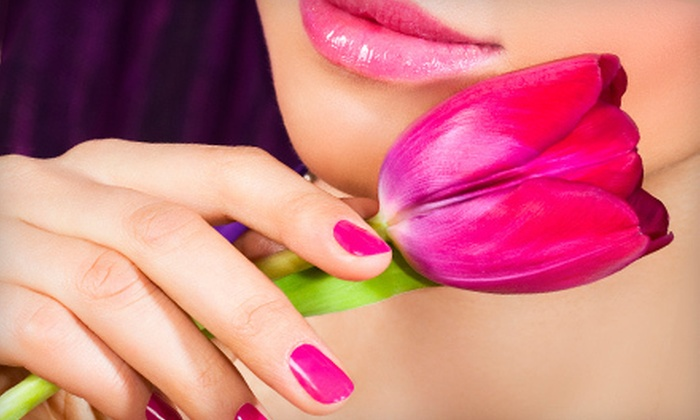 Salon Nails by Chana - North Raleigh: Classic Pedicure with Classic Manicure or Shellac No-Chip Manicure at Salon Nails by Chana (Up to 52% Off)