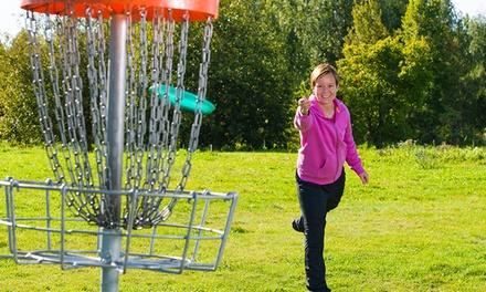 18 Holes of Disc Golf and Cart Rental for Two or Four at Pine Hills Golf Course (50% Off)