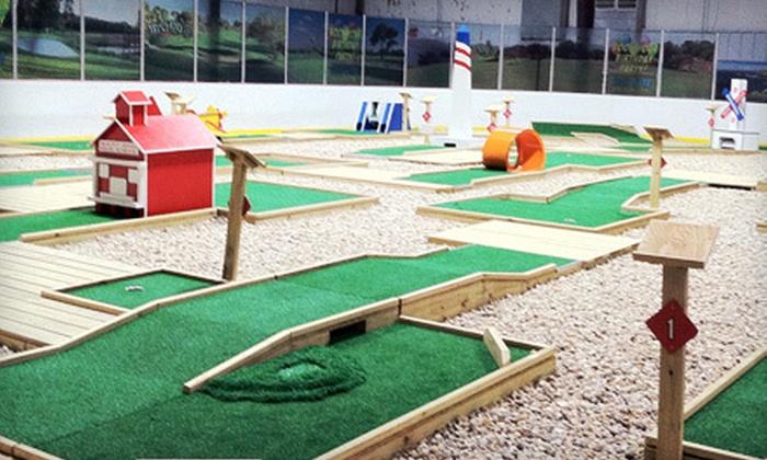 Inline 1 Mini Golf - Mount Sinai: Mini Golf for Two, Four, or Six at Inline 1 Mini Golf in Mount Sinai (Up to 57% Off)