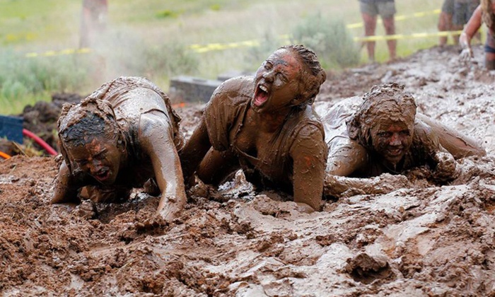 The Dirty Dash - Amesbury Town: $30 for Entry to The Dirty Dash on July 26 ($50 Value)
