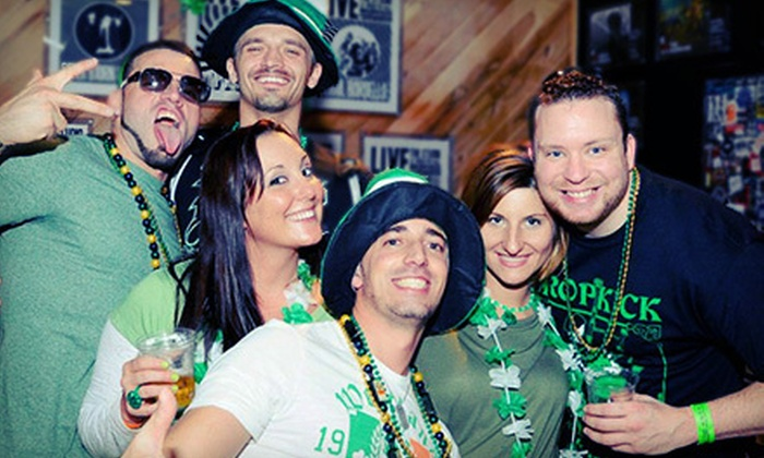 Pubcrawls.com - Central Business District: One or Two All-Access Entries to Two-Day St. Patrick's Day Pub Crawl March 16–17 from Pubcrawls.com (Up to 63% Off)