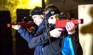 Actionland: 1 Stunde Lasertag inkl. Ausrüstung für 2-8 Spieler im Actionland (bis zu 65% sparen*)