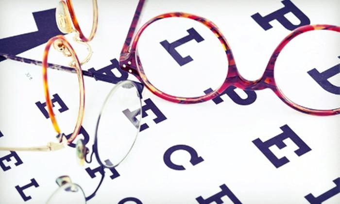 3 Guys Optical Center - Multiple Locations: Eye Exam and $200 Toward Prescription Glasses or $30 for $80 Toward Nonprescription Sunglasses at 3 Guys Optical Center
