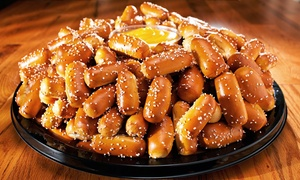 Philly Pretzel Factory: Party Tray, or Three or Five Groupons Good for Six Pretzel Twists at Philly Pretzel Factory (Up to 44% Off)