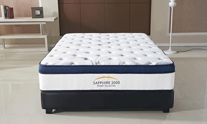 Pillow Top Sapphire 2000 Mattress Groupon