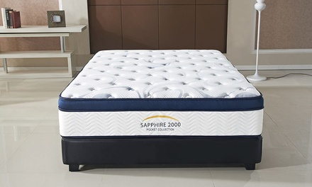 Pillow Top Sapphire 2000 Mattress