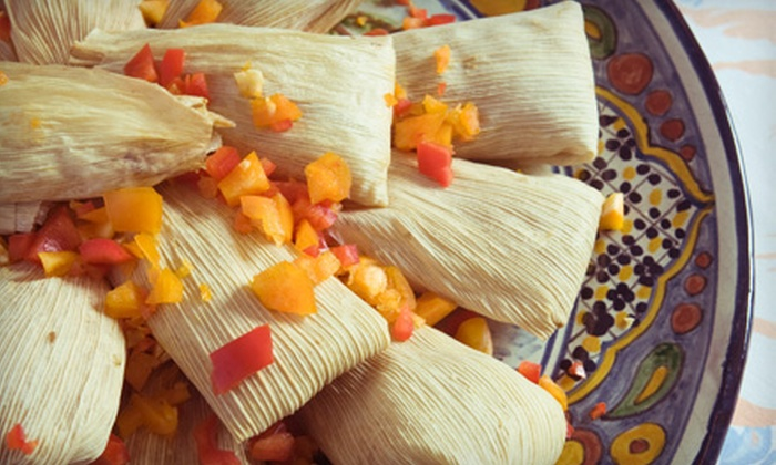 Tamale Factory - Downtown Gresham: $10 for $20 Worth of Tamales and Drinks at Tamale Factory