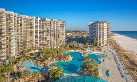 Stay at Edgewater Beach and Golf Resort in Panama City Beach, FL, with Dates into February