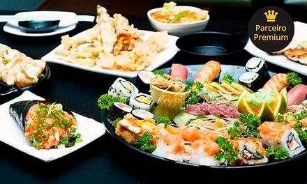 Sushi Nodawa – Ipiranga: rodízio japonês clássico ou prime com sobremesa para até 4 pessoas