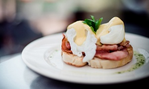 Street Corner Espresso: Breakfast or Lunch With Drinks for Two ($25) or Four People ($49) at Street Corner Espresso (Up to $110 Value)