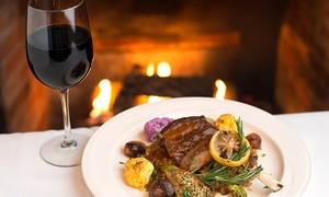 The Elkridge Furnace Inn: French Cuisine at The Elkridge Furnace Inn (Up to 56% Off). Three Options Available.