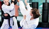 Up to 71% Off Martial Arts or FitnessClasses