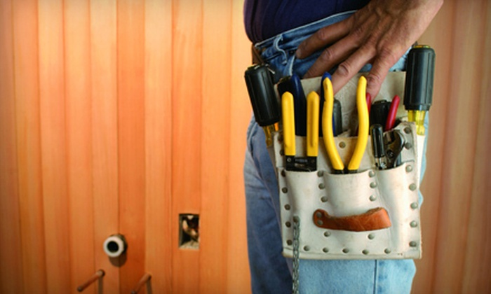 All Metro Construction - at the customers home: Two or Three Hours of Handyman Labor from All Metro Construction (Up to 54% Off)