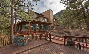 Historic Mountain Lodge in Colorado Rockies