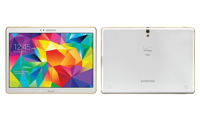 samsung galaxy tab s 16gb 10 5 tablet groupon. Black Bedroom Furniture Sets. Home Design Ideas