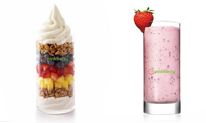 Pinkberry - West Edmonton Mall: C$5 for C$10 Worth of Frozen Yogurt at Pinkberry