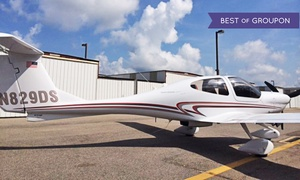 Blue Line Aviation LLC: $175 for 1-Hour Discovery Flight Lesson from Blue Line Aviation LLC ($299.99 Value). Two Options Available.