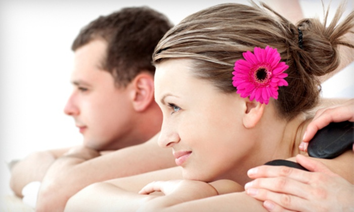 Studio Rejuvenate - Greer: Hot-Stone or Aromatherapy Couples Massage or 60-Minute Massage for One at Studio Rejuvenate (Up to 52% Off)