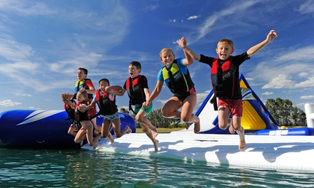 Cables Aqua Park Experience One $15 or Two Sessions $25, or a FullDay Pass $35, Penrith Up to $45 Value